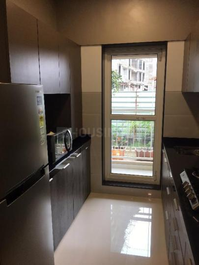 Kitchen Image of 769 Sq.ft 1 BHK Apartment for buy in JP North Barcelona, Mira Road East for 5999900