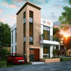 Gallery Cover Image of 1131 Sq.ft 3 BHK Independent House for buy in Kaliganj for 2700000