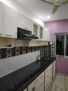 Kitchen Image of 520 Sq.ft 1 BHK Apartment for rent in Caranzalem for 18000