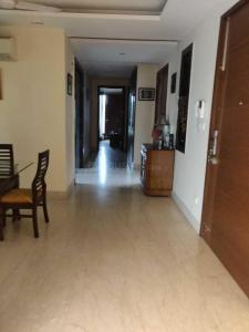 Gallery Cover Image of 2700 Sq.ft 4 BHK Independent Floor for rent in Nizamuddin East for 150000
