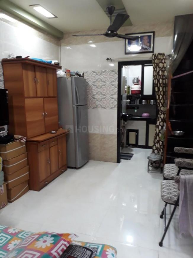 Living Room Image of 480 Sq.ft 1 BHK Independent House for rent in Vikhroli West for 15000