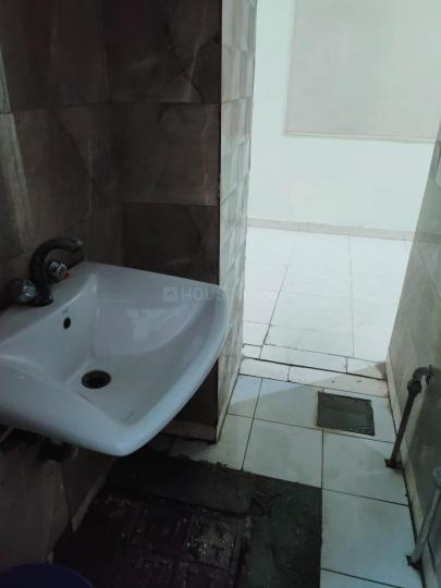 सेक्टर 36 में मन्नत पीजी के बाथरूम की तस्वीर