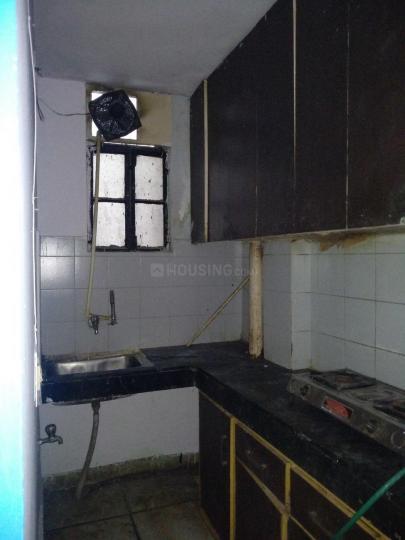 मुनिरका में बिंदल पीजी में किचन की तस्वीर
