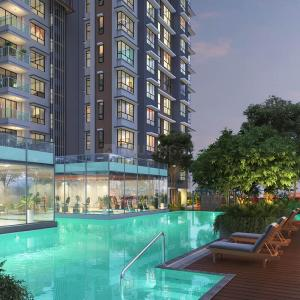Gallery Cover Image of 1200 Sq.ft 3 BHK Apartment for buy in Wadhwa TW Gardens, Kandivali East for 22500000
