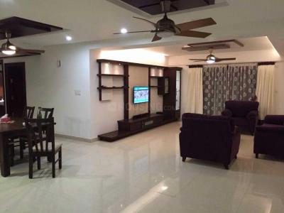 Gallery Cover Image of 2710 Sq.ft 3 BHK Apartment for rent in Jakkur for 110000