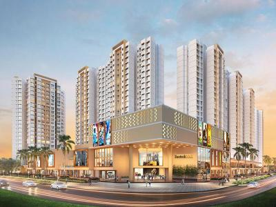 Gallery Cover Image of 1250 Sq.ft 3 BHK Apartment for buy in Sunteck Maxx World, Naigaon East for 5600000