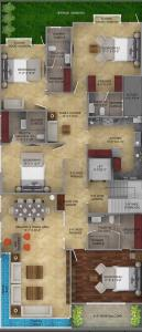 Gallery Cover Image of 3240 Sq.ft 4 BHK Independent Floor for buy in DLF Phase 4 for 42500000