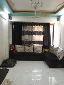 Gallery Cover Image of 1250 Sq.ft 2 BHK Apartment for rent in Airoli for 32000