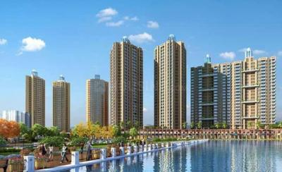 Gallery Cover Image of 1150 Sq.ft 3 BHK Apartment for buy in Orovia Phase 1, Thane West for 12500000