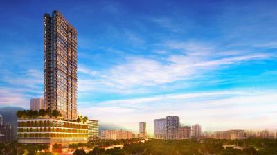 Gallery Cover Image of 643 Sq.ft 2 BHK Apartment for buy in Terrapolis Marathon Millennia 2, Mulund West for 13600000