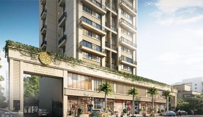 Gallery Cover Image of 1835 Sq.ft 3 BHK Apartment for buy in Paradise Sai Aaradhya, Kharghar for 16400000