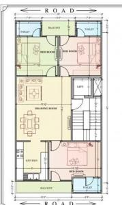 Gallery Cover Image of 1200 Sq.ft 3 BHK Independent Floor for buy in Sector 7 for 7200000