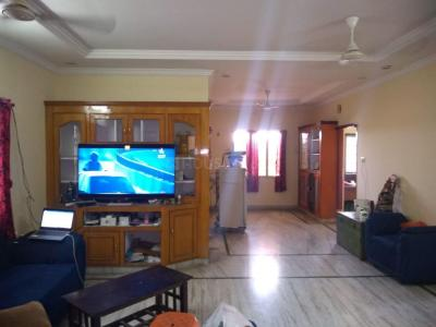 Gallery Cover Image of 1500 Sq.ft 3 BHK Apartment for rent in Miyapur for 19000