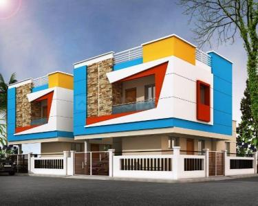 Gallery Cover Image of 1200 Sq.ft 3 BHK Independent House for rent in Adhanur for 15000