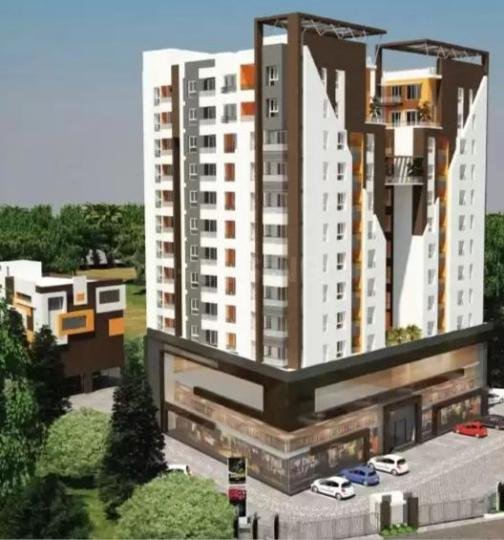 Building Image of 1420 Sq.ft 3 BHK Apartment for buy in Poojaa Diamond Anandam, Kattupakkam for 7455000