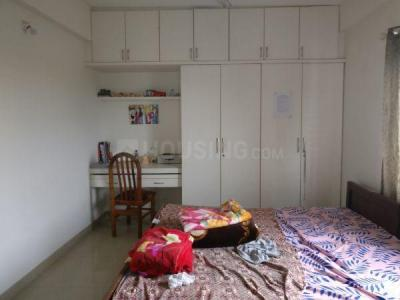 Bedroom Image of Innovative Meva Lakeview Residency in Bilekahalli