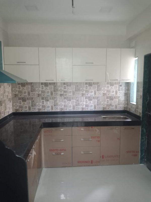 Kitchen Image of 690 Sq.ft 1 BHK Apartment for buy in Kalyan West for 3610000