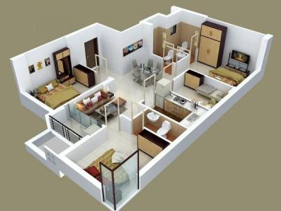 Gallery Cover Image of 1504 Sq.ft 3 BHK Apartment for buy in Paramount Grande, Sarusajai for 7971200