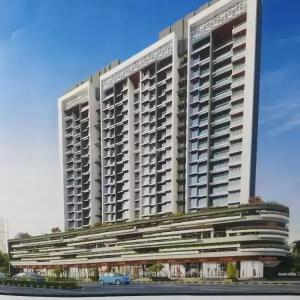 Gallery Cover Image of 1200 Sq.ft 2 BHK Apartment for rent in Regency Ellanza, Kalamboli for 16500