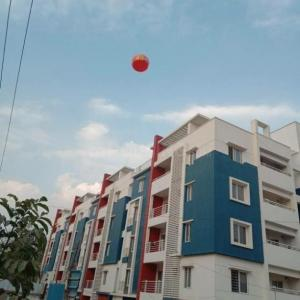 Gallery Cover Image of 1120 Sq.ft 2 BHK Apartment for buy in Tejaswini Nagar for 5523452