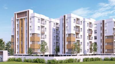 Gallery Cover Image of 1536 Sq.ft 3 BHK Apartment for buy in Pragathi Nagar for 6610000