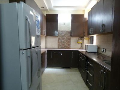 Kitchen Image of North Campus Girls PG in Kalyan Vihar
