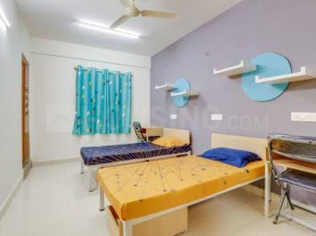 Bedroom Image of Ojha Boys & Girls Hostel in Buddha Colony