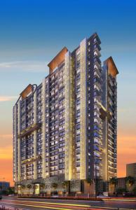 Gallery Cover Image of 646 Sq.ft 2 BHK Apartment for buy in Paradigm Ananda Residency, Borivali West for 16500000