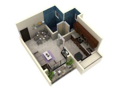 Gallery Cover Image of 1060 Sq.ft 2 BHK Apartment for buy in Moreshwar 19 East, Nerul for 16700000