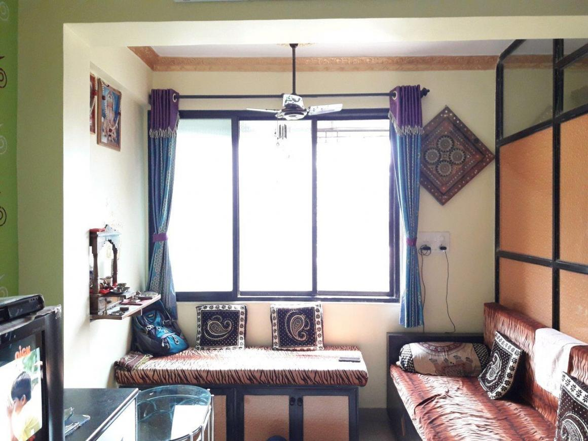 Living Room Image of 415 Sq.ft 1 BHK Apartment for buy in Dombivli West for 3300000