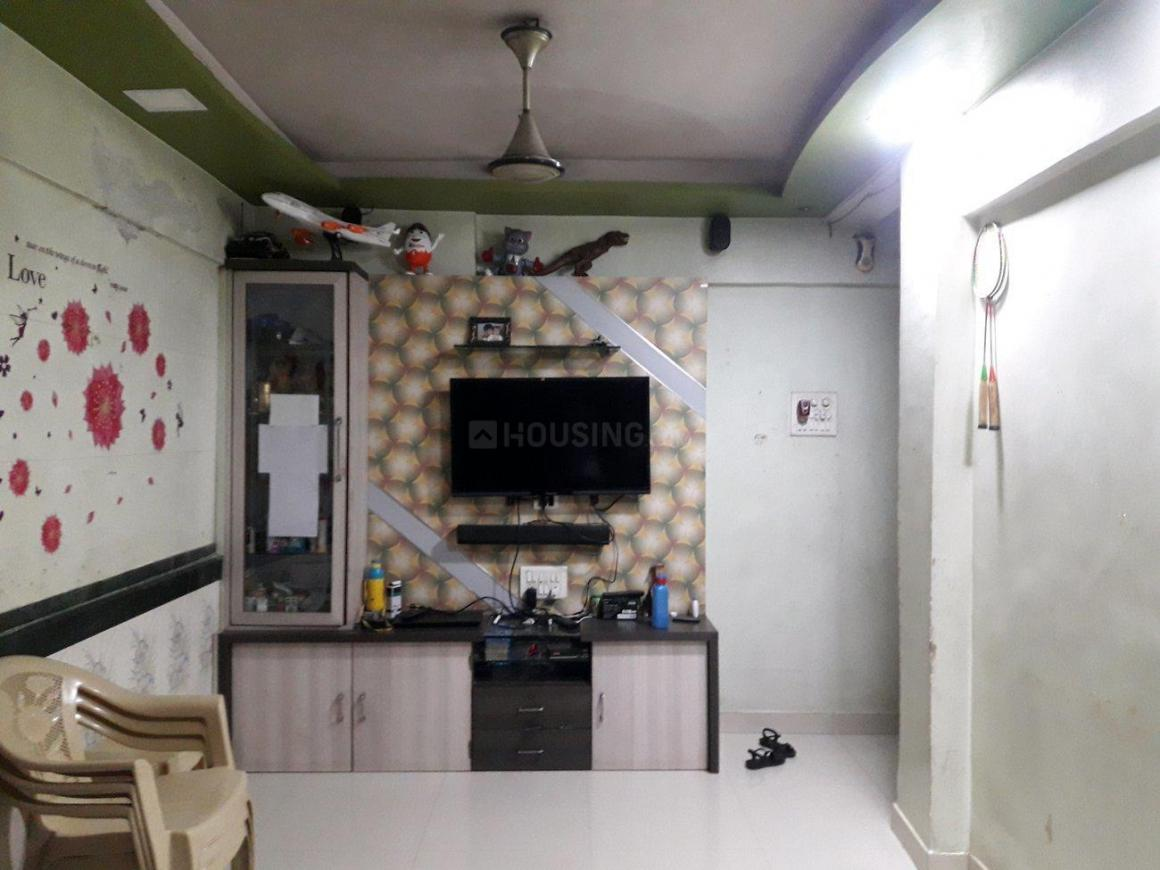 Living Room Image of 500 Sq.ft 1 BHK Apartment for buy in Dombivli West for 3700000