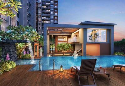 Gallery Cover Image of 693 Sq.ft 2 BHK Apartment for buy in Mangalam Breeze, Alandi for 3750000