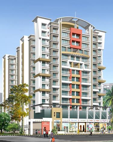 Building Image of 1100 Sq.ft 2 BHK Apartment for rent in Kamothe for 15000