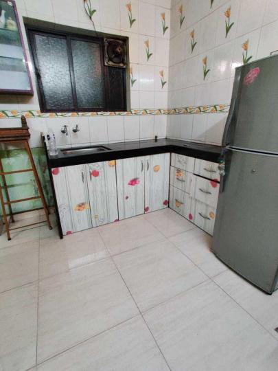 Kitchen Image of 600 Sq.ft 1 BHK Apartment for rent in Wonder Bharati Vihar, Dhankawadi for 7000