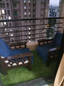 Gallery Cover Image of 1000 Sq.ft 2 BHK Apartment for rent in Puraniks City, Thane West for 21000