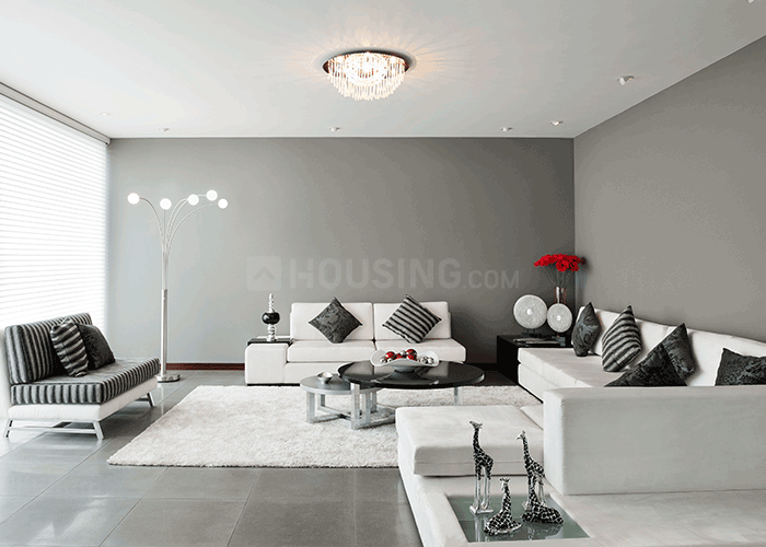 Living Room Image of 992 Sq.ft 3 BHK Apartment for buy in Kalpataru Bliss Apartments, Santacruz East for 31300000