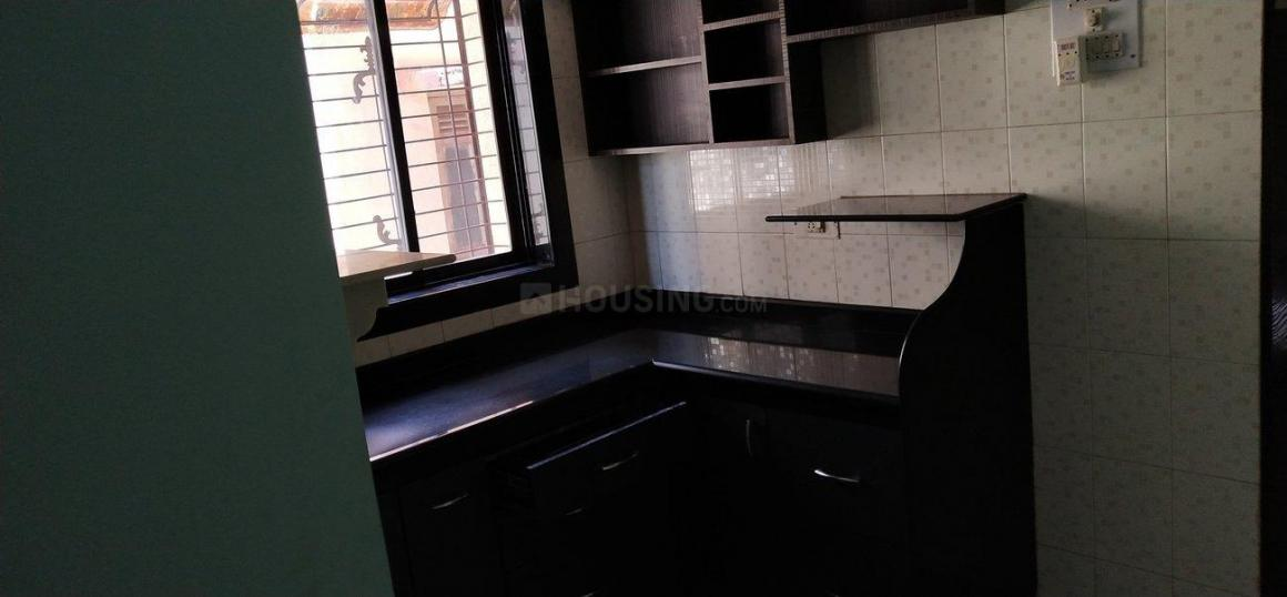 Kitchen Image of 650 Sq.ft 1 BHK Apartment for rent in Dombivli East for 15000