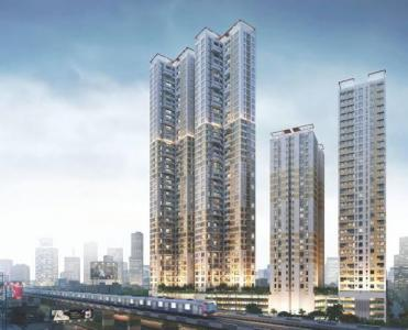 Gallery Cover Image of 1475 Sq.ft 3 BHK Apartment for buy in Bengal Peerless Avidipta Phase II, Mukundapur for 15000000