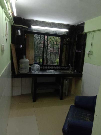 Kitchen Image of 600 Sq.ft 1 BHK Apartment for rent in Kopar Khairane for 16000