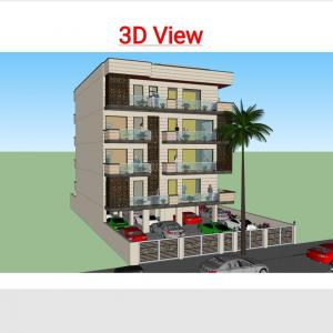 Gallery Cover Image of 4500 Sq.ft 4 BHK Independent Floor for buy in Sector 4 for 17500000