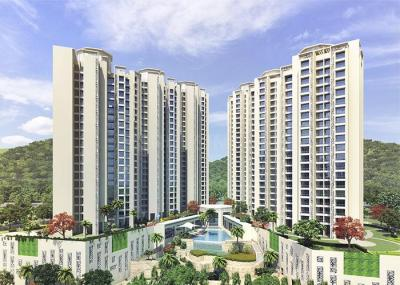 Gallery Cover Image of 697 Sq.ft 1 BHK Apartment for buy in Bharat Ecovistas, Shilphata for 5600000