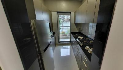 Kitchen Image of 750 Sq.ft 1 BHK Apartment for buy in JP North, Mira Road East for 5995000