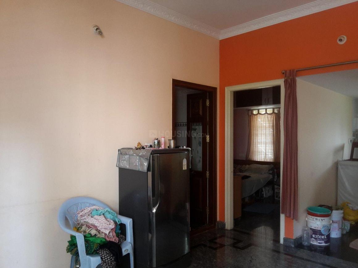 Living Room Image of 900 Sq.ft 1 BHK Apartment for rent in Uttarahalli Hobli for 9000