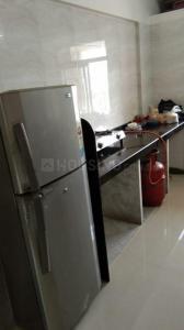 विखरोली वेस्ट में ओम साई प्रॉपर्टी के किचन की तस्वीर