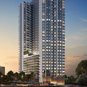Gallery Cover Image of 1048 Sq.ft 2 BHK Apartment for buy in Elegance, Goregaon East for 14500000
