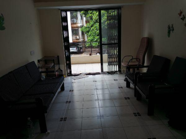 Living Room Image of 600 Sq.ft 1 BHK Apartment for rent in Kondhwa for 15000