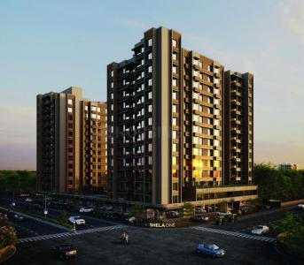 Gallery Cover Image of 1050 Sq.ft 2 BHK Apartment for buy in Shela for 2625000