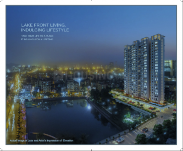 Gallery Cover Image of 705 Sq.ft 1 BHK Apartment for buy in Parth Lakefront, Airoli for 7100000