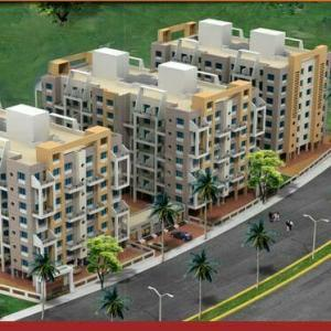 Gallery Cover Image of 671 Sq.ft 1 BHK Apartment for rent in Sonigara Aangan, Ravet for 12000