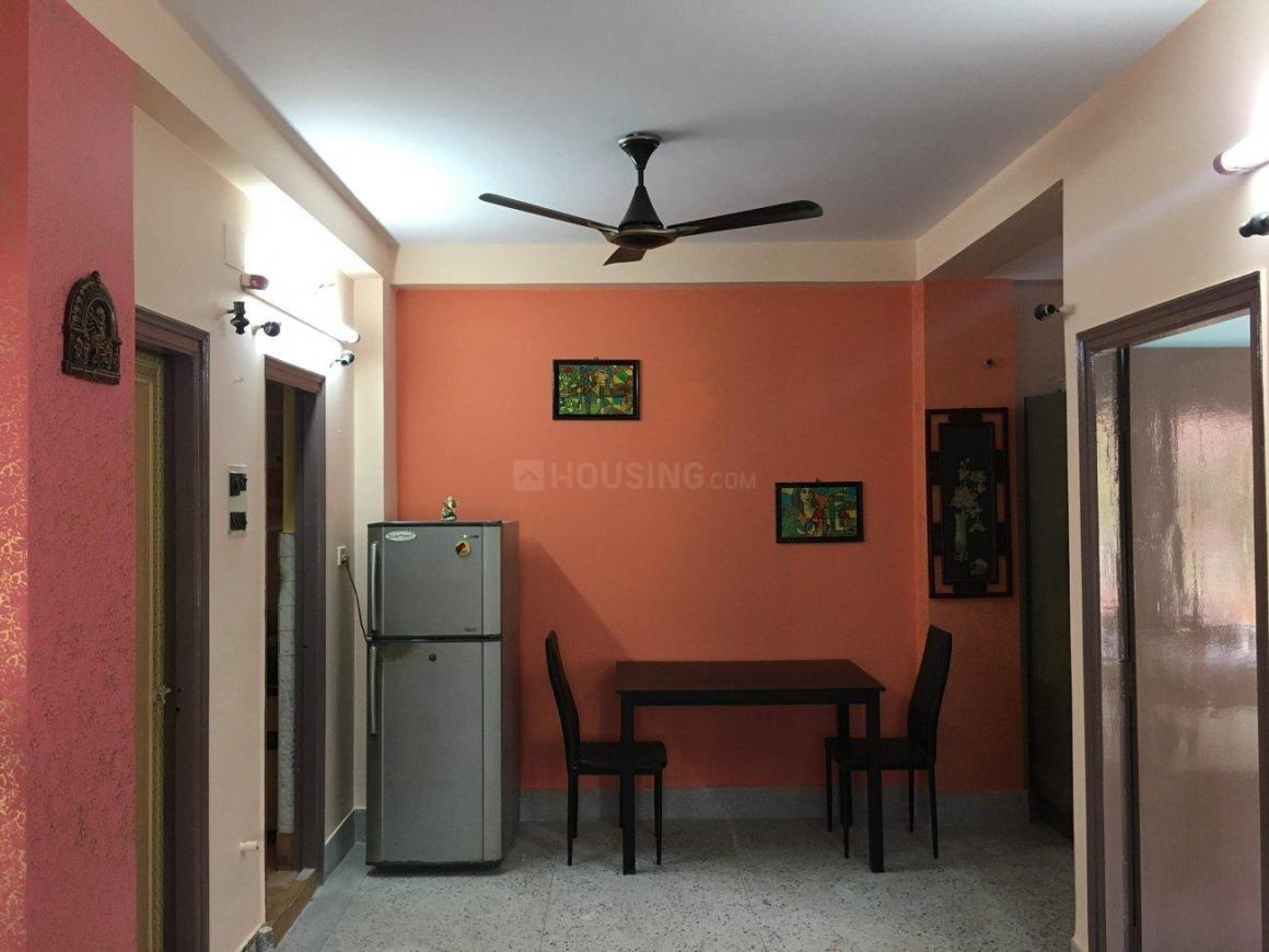 Living Room Image of 850 Sq.ft 2 BHK Apartment for rent in Ganguly Bagan for 15000